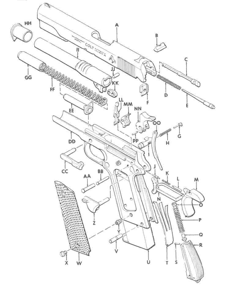739x993 Colt M1911