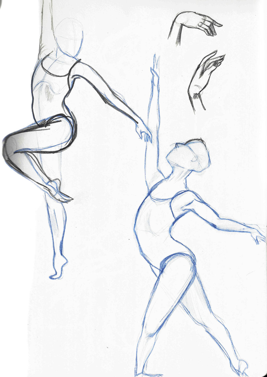 851x1200 Gesture And Figure Drawing