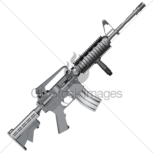 500x500 M4 Carbine Gl Stock Images