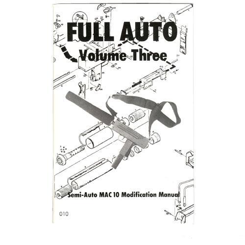 500x500 Us Machinegun Mac 10 Semi Modification Educational Manual, Books