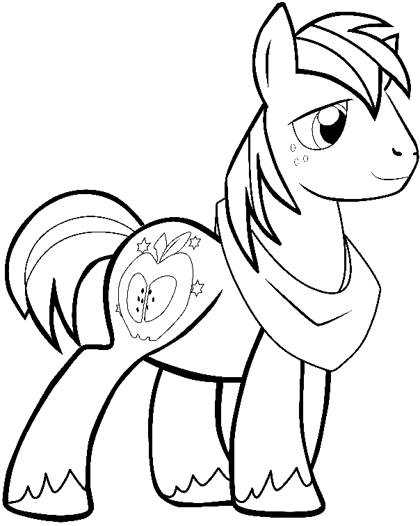 604x756 How To Draw Big Mac From My Little Pony Friendship Is Magic