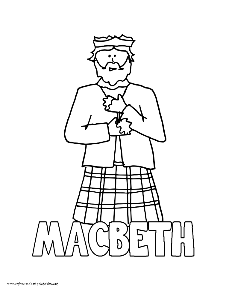 Lady Macbeth Coloring Pages - Auto Electrical Wiring Diagram | 990x765