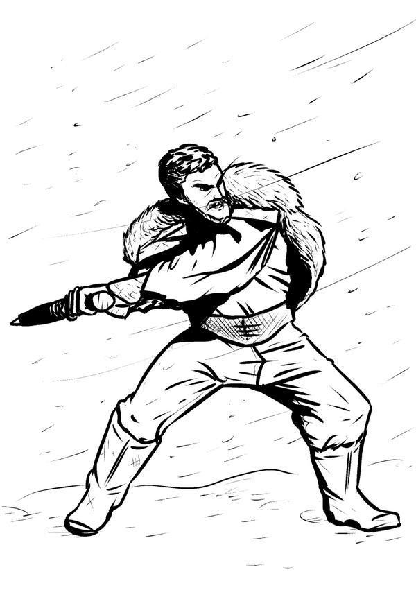 600x851 Joshua Drummond On Twitter I Drawd Macduff From A Production