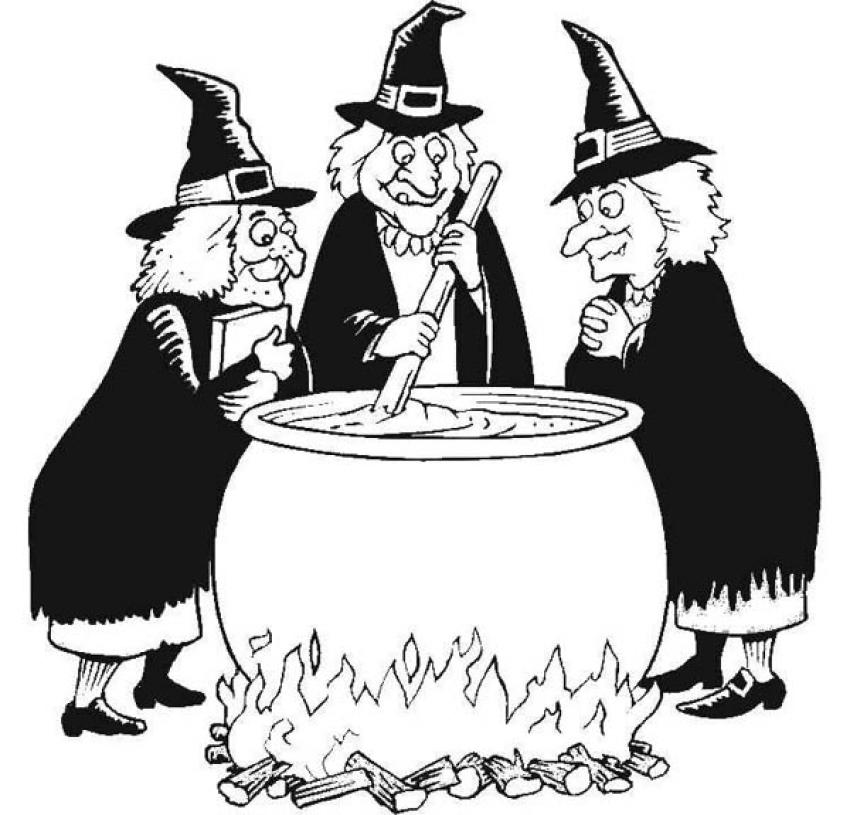 what day of the week do witches meet