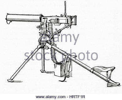 390x320 Machine Gun Mounted On A Military Vehicle Stock Photo, Royalty