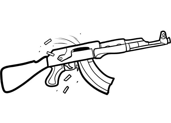 machine gun drawing at getdrawings com free for personal use
