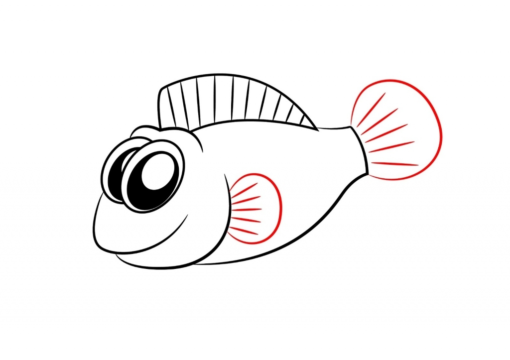 1024x723 How To Draw A Fish