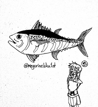 320x351 Tuna Drawings On Paigeeworld. Pictures Of Tuna