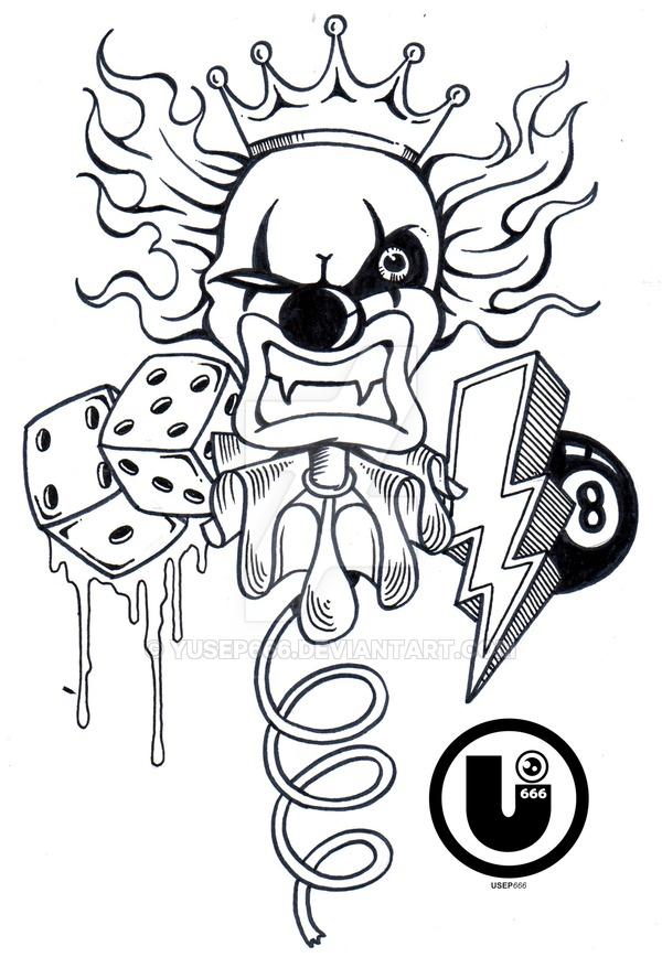 600x878 The Mad Clown By Yusep666