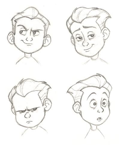 397x484 Dash Face Sketches By Pixarvixen On Art Admiration