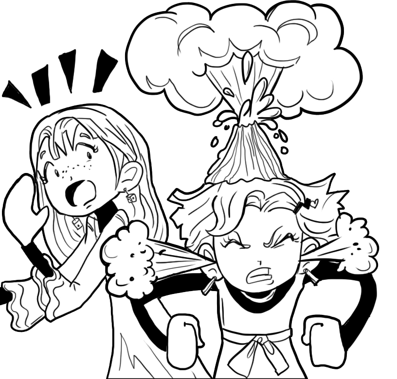 816x780 How To Deal With A Friend Who Is Always Angry Dork Diaries