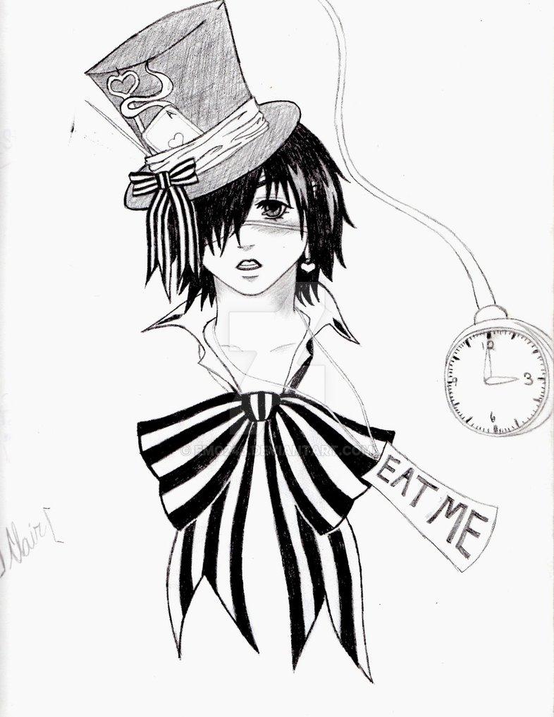 786x1017 Dark Mad Hatter By Emo246