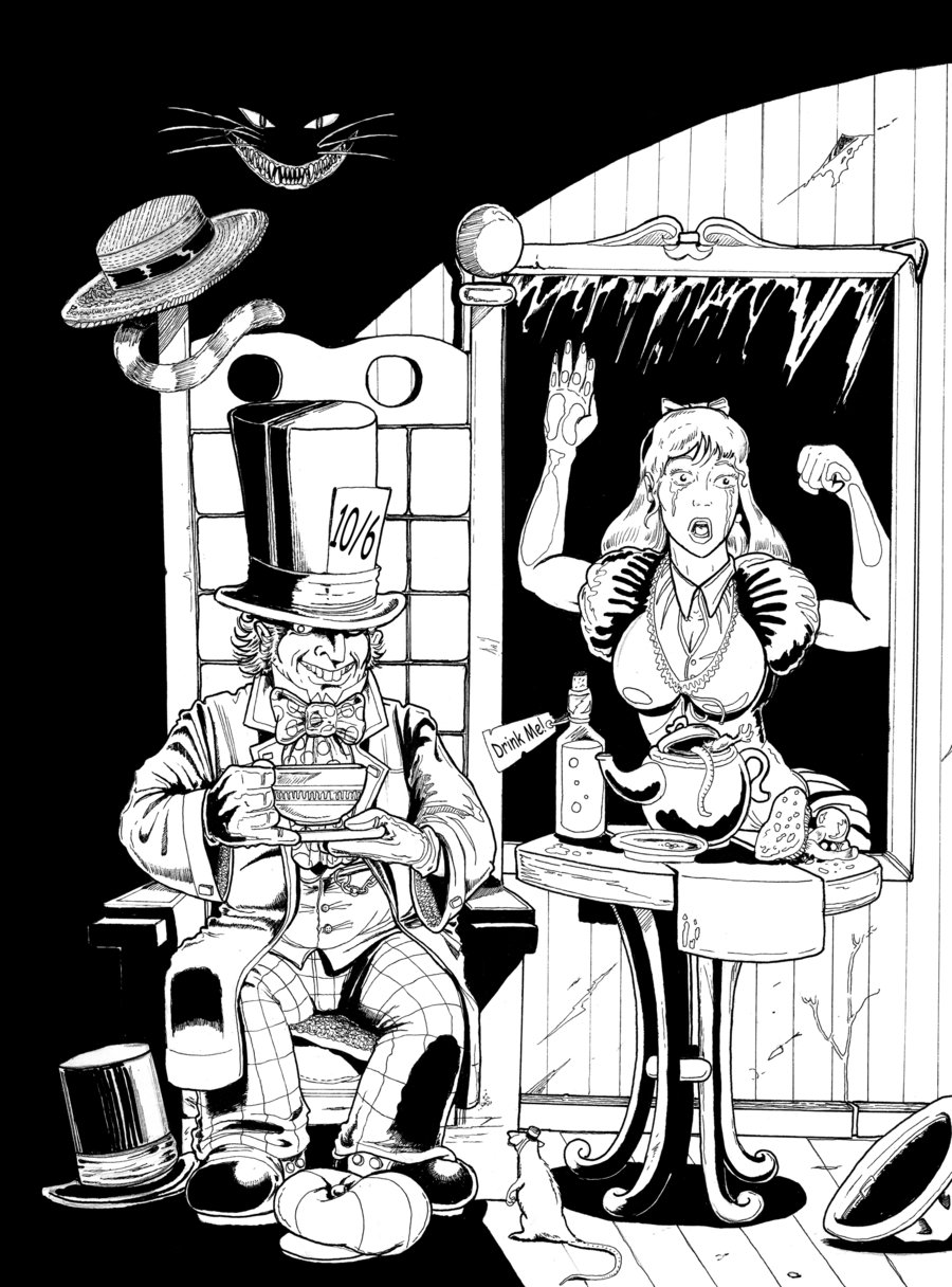 900x1216 The Mad Hatter By Tardistailz700