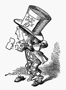 221x300 Mad Hatter Drawings Fine Art America