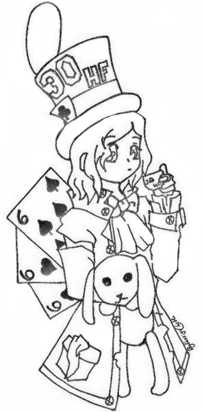 298x600 Mad Hatter Paige By Kingdom Anime