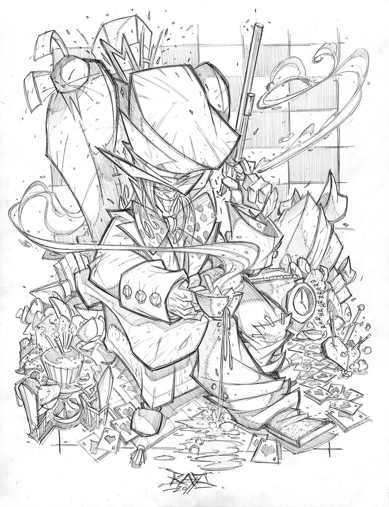 783x1021 Commish 66 Mad Hatter By Robduenas