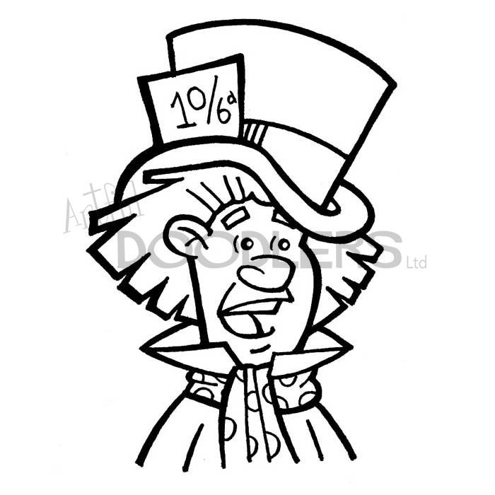 700x700 Mad Hatter Artful Doodlers
