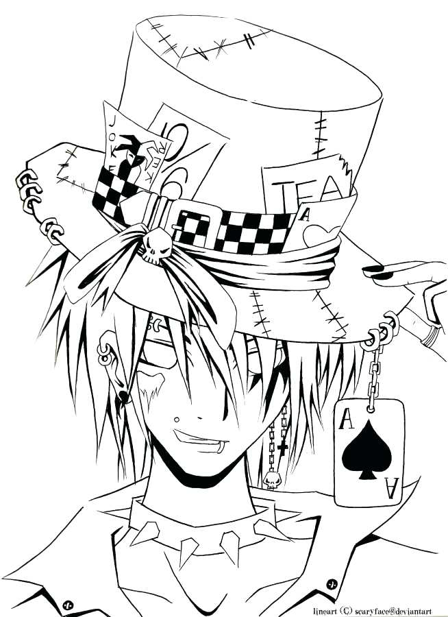 654x900 Mad Hatter Coloring Pages 41 Also Coloring Pages Mad Hatter Tea