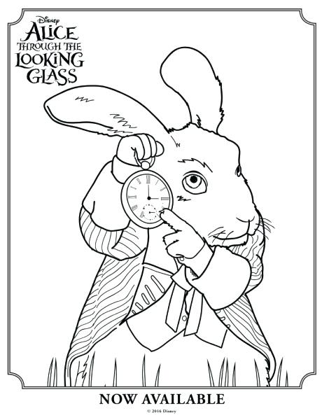 460x600 Mad Hatter Coloring Pages 81 Together With Through The Looking