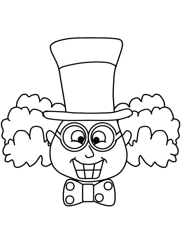 718x957 Mad Hatter Coloring Pages Plus Mad Hatter The Hatter Party In Mad