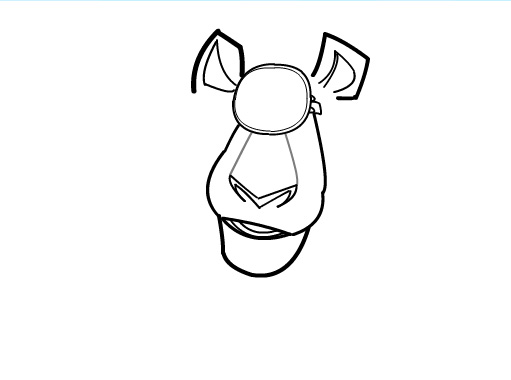 511x380 How To Draw Alex From Madagascar 3 Part 2 By Sketchheroes