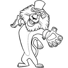 230x230 Top 10 Free Printable Madagascar Coloring Pages Online