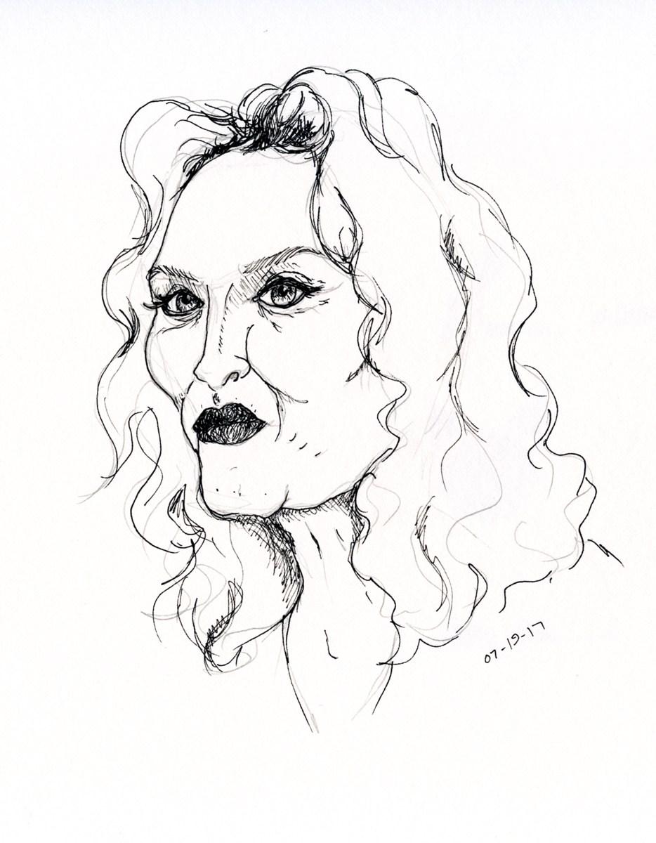 934x1200 Madonna 10,000 Bad Drawings