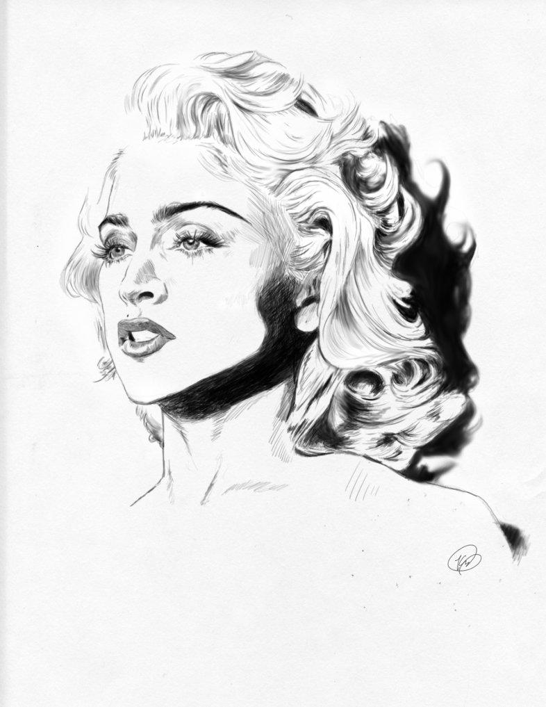 786x1017 Big As Madonna By Vitostone