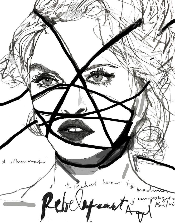 736x936 Madonna Fashion
