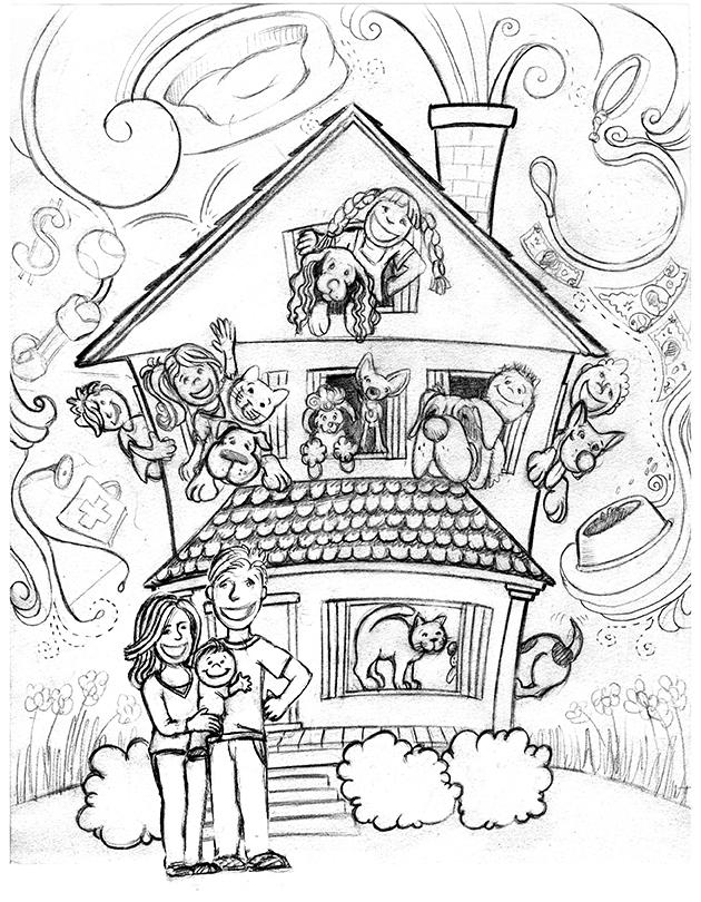 630x810 Amanda's Creative Studios New Illustration Sketches