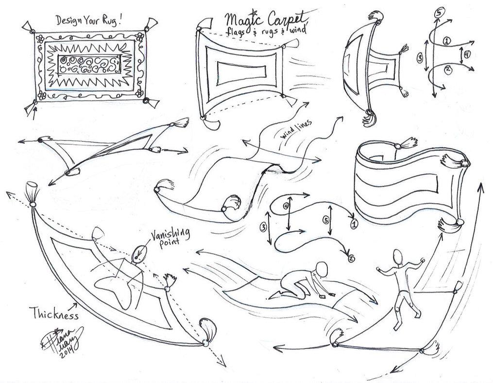 1015x788 Draw A Magic Carpet By Diana Huang