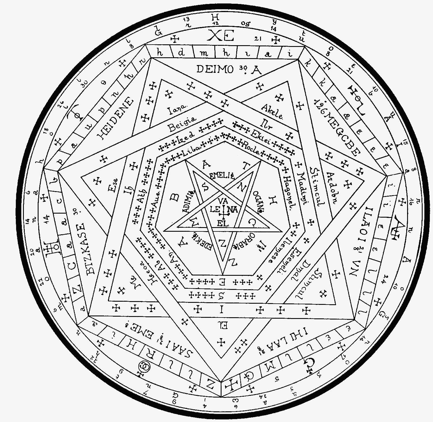 1505x1466 The Key To Solomon's Key The Magic Circle Part 1