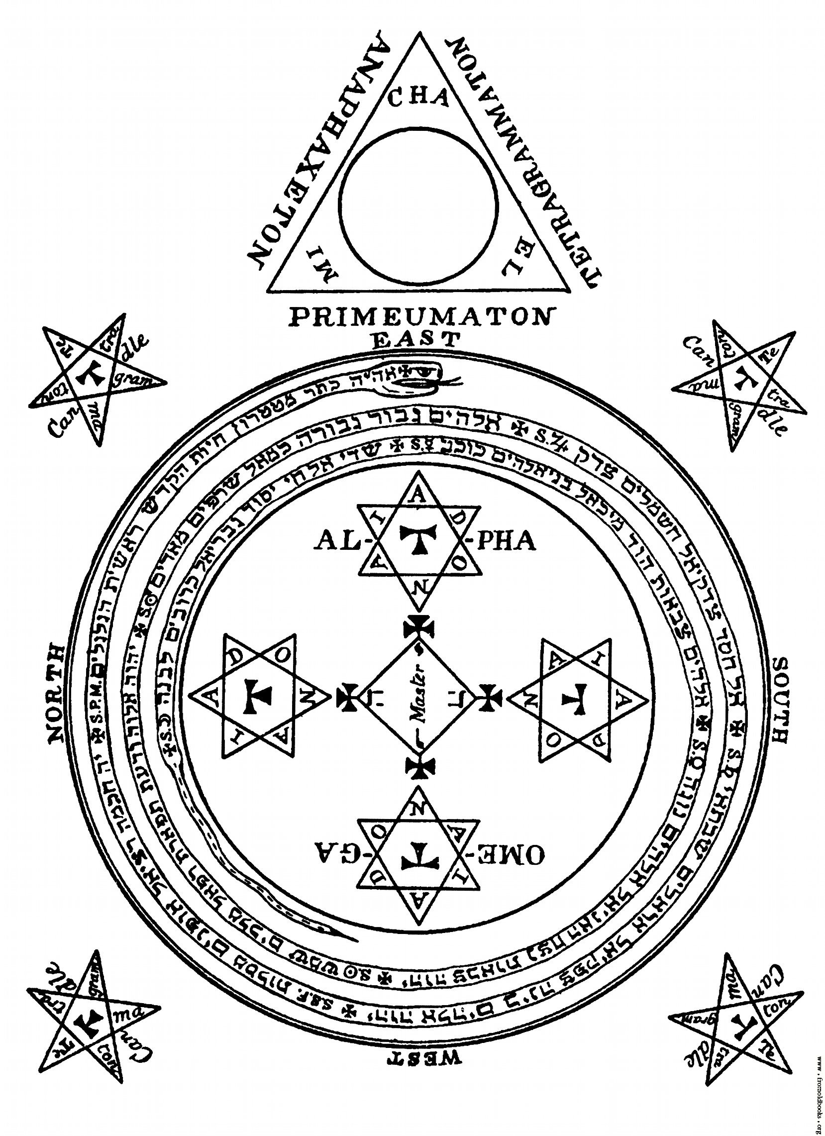 1658x2283 The Magical Circle Of King Solomon