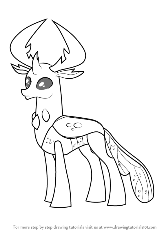 566x800 Learn How To Draw Thorax From My Little Pony