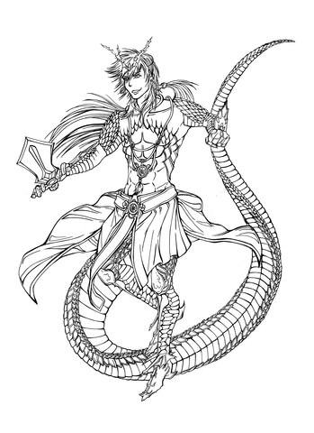 349x480 Sinbad Character From Mangaanime Series Magi The Labyrinth