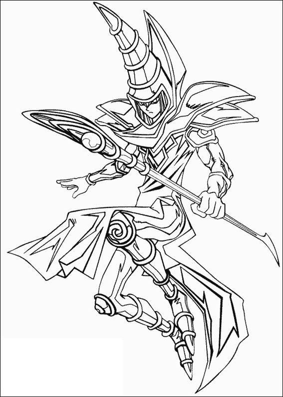 567x794 Yu Gi Oh Magic Monster Card Coloring Picture For Kids Yu Gi Oh