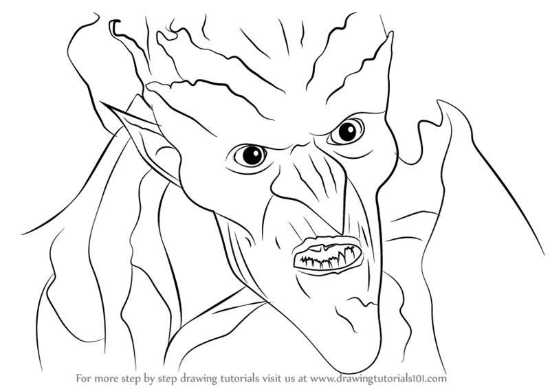 800x566 Learn How To Draw Bog King From Strange Magic (Strange Magic) Step
