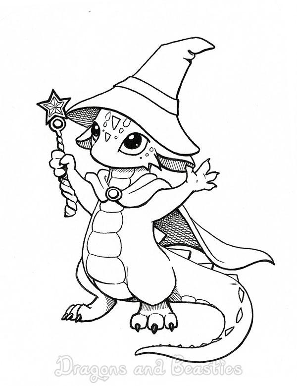 600x779 Inktober Magic By Dragonsandbeasties