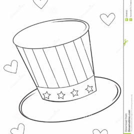268x268 Magic Hat Coloring Page Balloon Coloring Pages