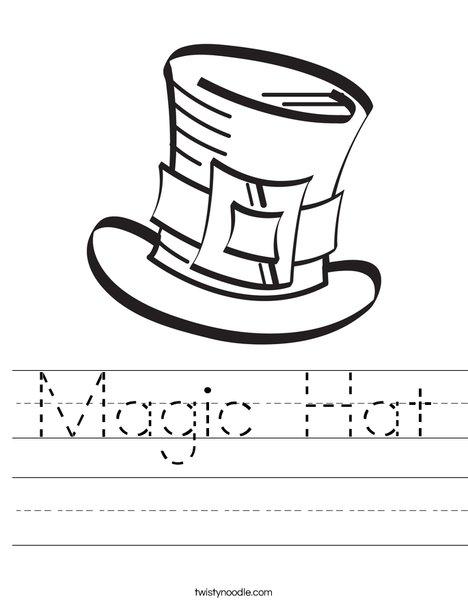 468x605 Magic Hat Worksheet