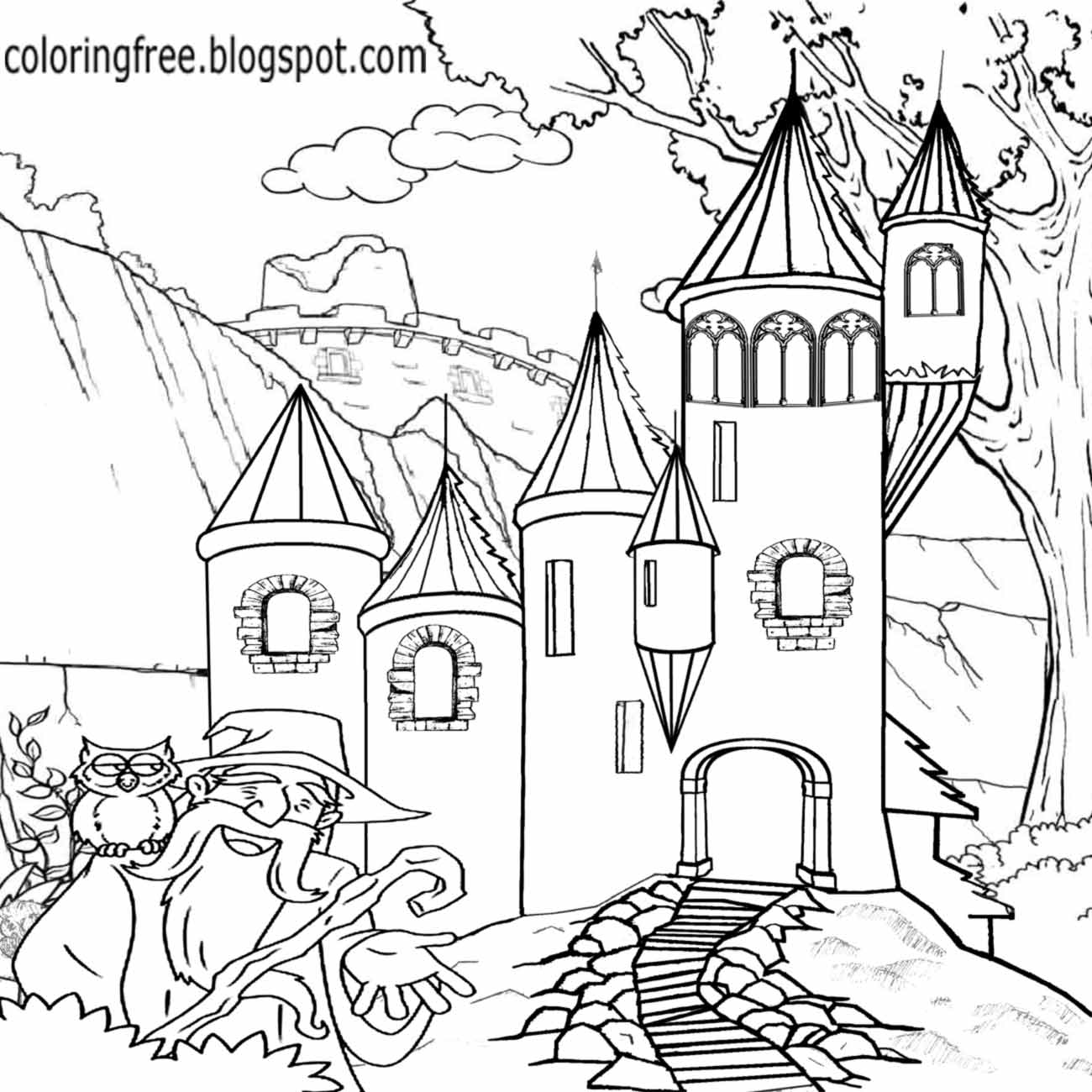 1300x1300 Lets Coloring Book Wonderful Land Of Magical And Mystical