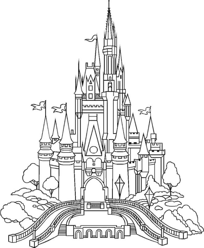 660x800 Magic Kingdom Castle Clipart
