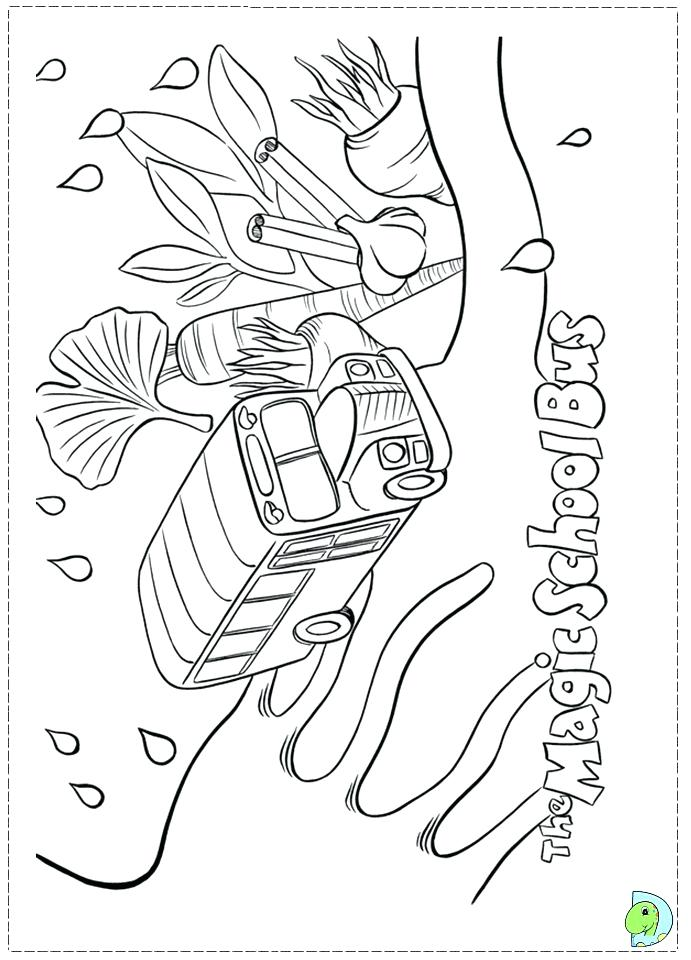 691x960 Magic School Bus Coloring Pages Printable Page Me Best Coloring