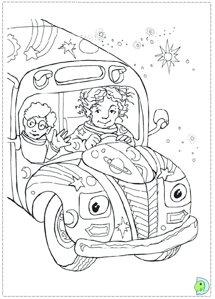 691x960 New The Magic School Bus Coloring Pages Print Page Pictures