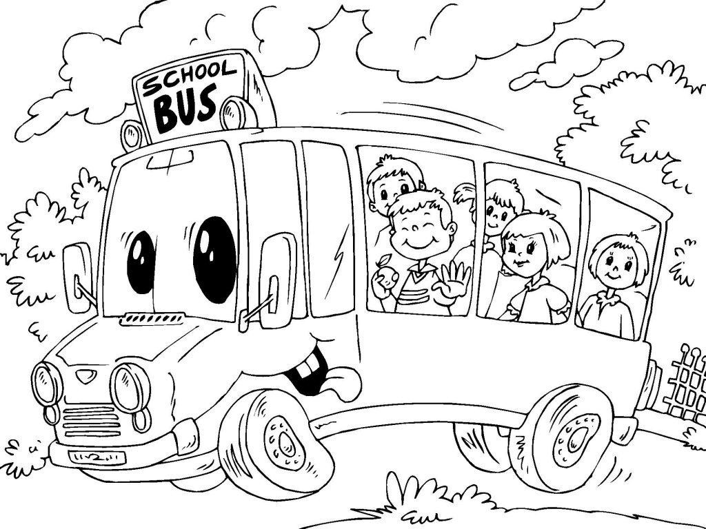 1024x768 Best Magic School Bus Coloring Pages Image Unknown Resolutions