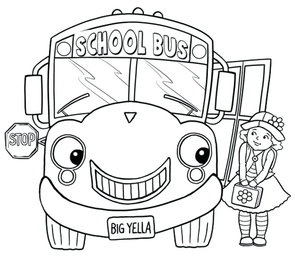 960x857 Coloring Magic School Bus Coloring Pages