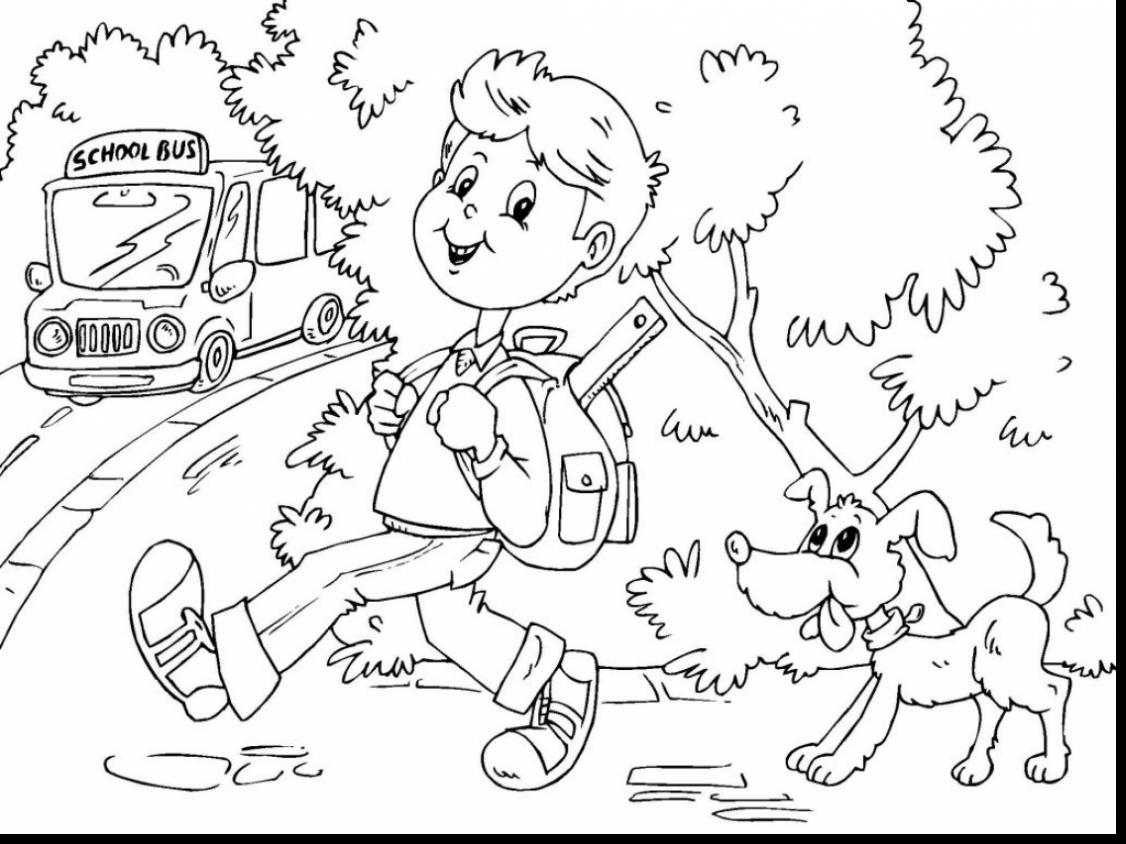 1126x844 Great School Bus Coloring Pages With Magic School Bus Coloring