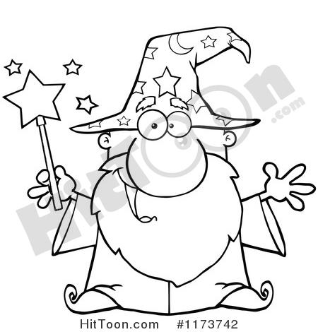 450x470 Wizard Clipart