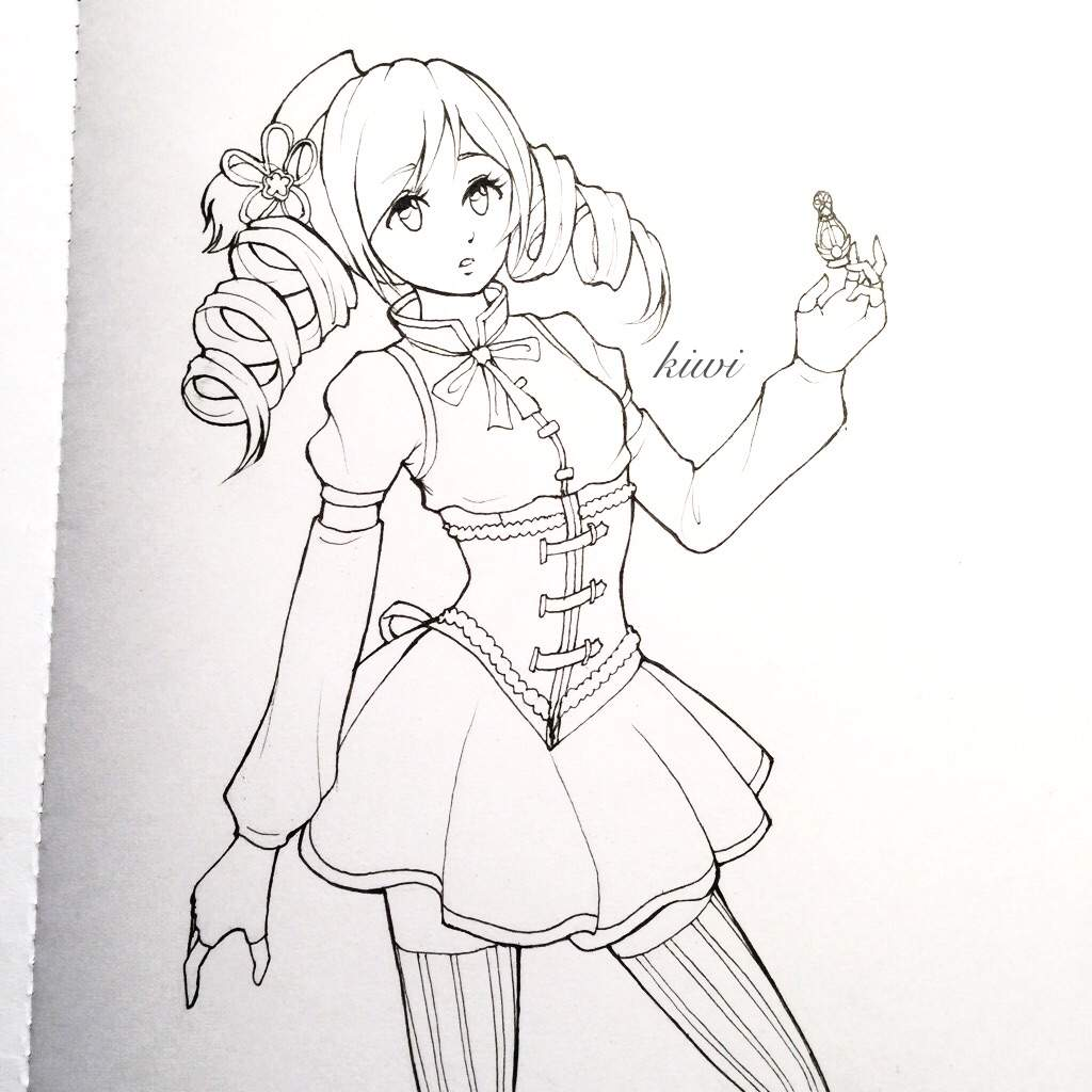 1024x1024 Drawing My Fave Magical Girl Anime Amino