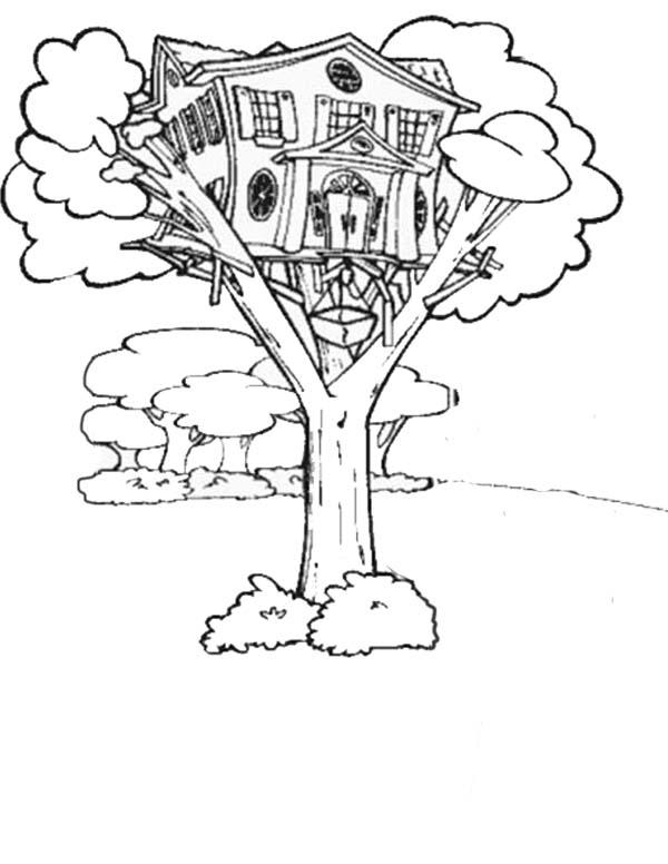 Magical Tree Drawing at GetDrawings | Free download